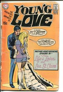 YOUNG LOVE #75-DC ROMANCE-GOOD ISSUE-DARLING G