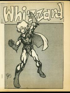 Whizzard Fanzine #5 1975- Atlas/Seaboard comics- Spider Pulp checklist FN