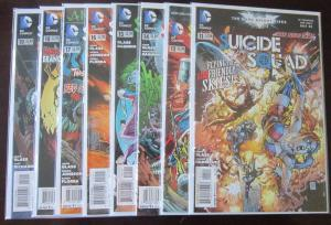 Suicide Squad (2012-13 4th Series), SET:#11,13-19, VF , 8 DIFF