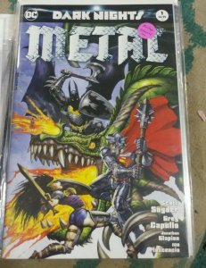 DARK NIGHTS METAL # 1 2017 DC SIMON BISLEY  VARIANT BATMAN DARK UNIVERSE JLA