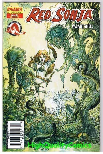 RED SONJA : Vacant Shell #1, NM, Robert  E Howard, Kaluta, more RS in store