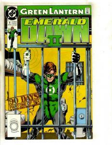 10 DC Comic Books Emerald Dawn 2 #1 2 3 4 5 6 + Superman Metropolis 1 2 3 4  EK3