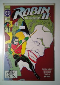 Robin II The Joker's Wild #1 (1991) Newstand Edition DC Comics 9.4 NM Comic Book