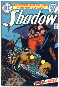 SHADOW, THE #4 1974-DC-COOL COVER FN/VF