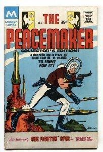 The Peacemaker #1 1978-Modern comics-First issue-comic book