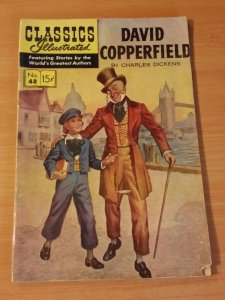 Classics Illustrated #48 - David Copperfield ~ VERY GOOD VG ~ 1948 HRN 156
