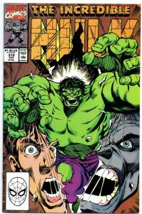 Incredible HULK #372, VF/NM, Grey, Bruce Banner, 1968 1990, more Marvel in store