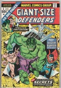 Giant-Size Defenders #1 (Jul-74) VF/NM High-Grade Dr.Strange, Namor, Hulk, Si...