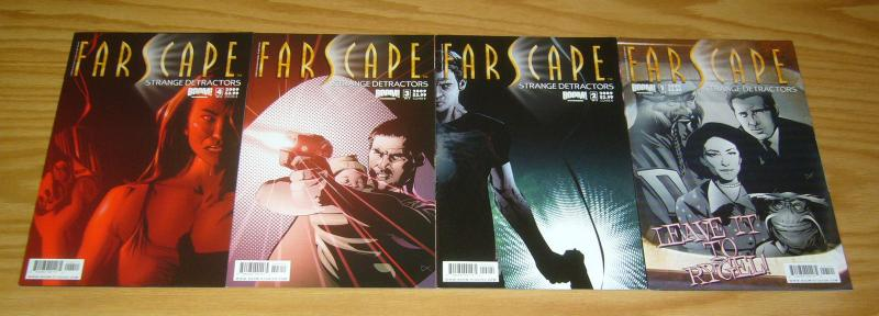 Farscape: Strange Detractors #1-4 VF/NM complete series - all B variants - comic