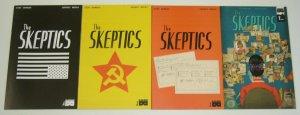 the Skeptics #1-4 VF/NM complete series - black mask studios comics set lot 2 3