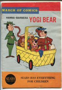 March Of Comics #279 1965-Yogi bear-Boo Boo-5 X 7 1/4 -VG