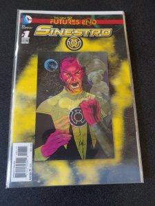 Sinestro: Futures End # 1 3D Lenticular Motion Cover