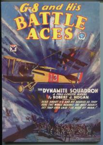 G-8 AND HIS BATTLE ACES 2003-POPULAR-REPRINT OF 6/1934 ISSUE-DYNAMITE SQUAD-nm