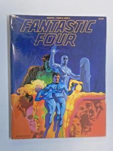 """Marvel Comics Index #4 (""""Fantastic Four"""" - Marvel Comics 1977) 6.0 - 1977"""