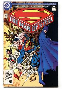 MAN OF STEEL #3-First appearance of MAGPIE-DC comic book 1986