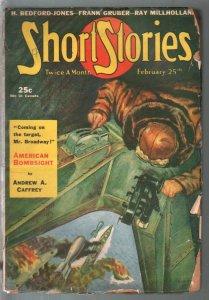 Short Stories 3/25/1941-pulp adventure-Bedford-Jones-Frank Gruber-WWII era-FR/G