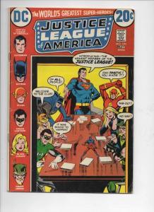 JUSTICE LEAGUE OF AMERICA #105, VG, Superman, Batman, Flash, Atom, DC, 1973