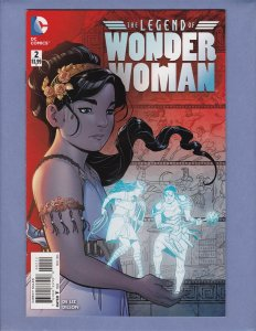 Legend of Wonder Woman #2 NM- Front/Back Cover Scans DC 2016