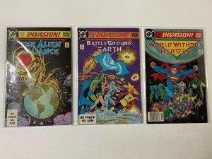 Invasion set #1-3 6.0 FN (1988 DC)