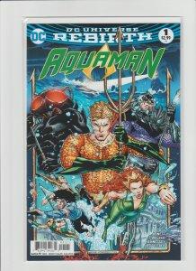 Aquaman #1 NM (2016, DC Comics) Universe Rebirth!