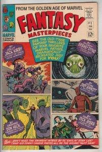 Fantasy Masterpieces #1 (Feb-66) NM- High-Grade