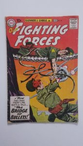 Our Fighting Forces #56 (1960) VG/FN Silver Age SGT Rock