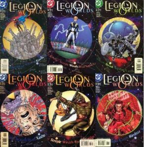 LEGION WORLDS (2001) 1-6  the COMPLETE series! COMICS BOOK