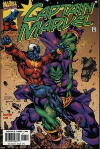 Captain Marvel (2000 series) #4, NM (Stock photo)