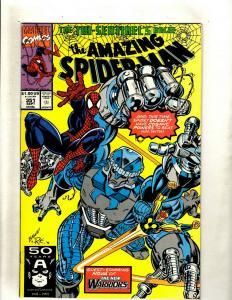 Lot of 6 Comics Spider-Man 351 352 Iron Fist 6 Venom 1 Frankenstein 20 ++ J369