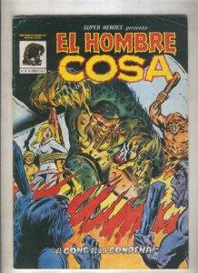 Super Heroes de Mundicomics numero 4: El hombre cosa