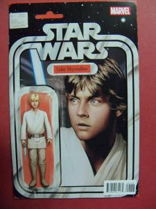 STAR WARS #001 ACTION FIGURE VARIANT  COVER NM 9.4 MARVEL COMICS 2015 SERIES