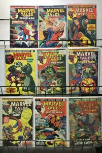 MARVEL TALES 50-136 Spider-Man reprints 46 Issues FINE - VERY FINE 1970's-1980s