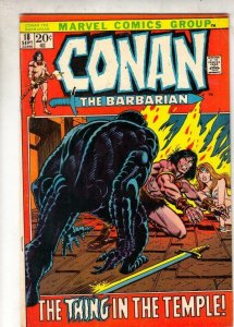 Conan the Barbarian #18 (Sep-72) VF High-Grade Conan the Barbarian