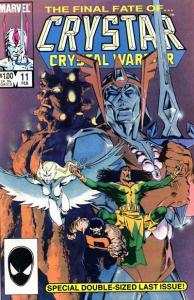 Saga of Crystar: Crystal Warrior #11, VF- (Stock photo)