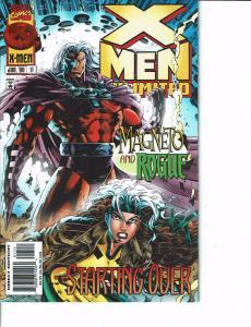 Lot Of 2 Marvel Books X Men Unlimited and Professor Xavier #7 ON2