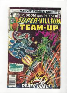 Super-Villain Team-Up #12(1977) Marvel Comics Dr. Doom and The Red Skull VF