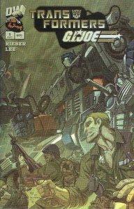 Transformers/G.I. Joe #1A VF/NM; Dreamwave   save on shipping - details inside