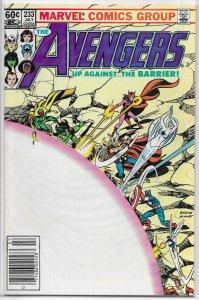 Avengers   vol. 1   #233 VG/FN