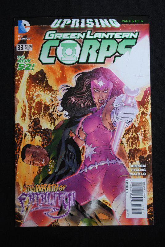 Green Lantern Corps, #33, NM,
