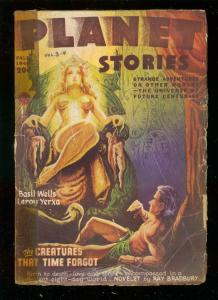 PLANET STORIES-FALL 1946-RAY BRADBURY-MURPHY ANDERSON-  G