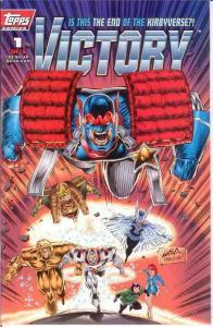 VICTORY (1994 TOPPS) 1 (2.50 CVR;STEEL GREY LOGO) VF-NM COMICS BOOK