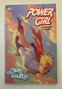 POWER GIRL BOMB SQUAD TPB SOFT COVER GRAPHIC NOVEL FIRST PRINT NM