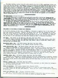 Erbania Fanzine #25 1970- Tarzan- Pellucidar- Roy Krenkel F/VF