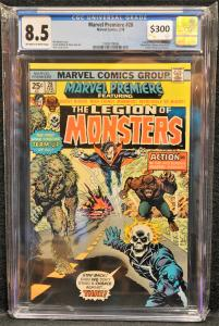Marvel Premiere #28 CGC 8.5 KEY