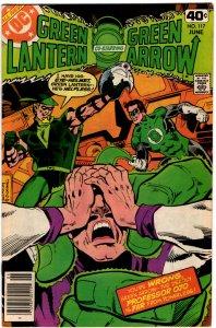 Green Lantern & Green Arrow #117 (1960 v2) Black Canary VF