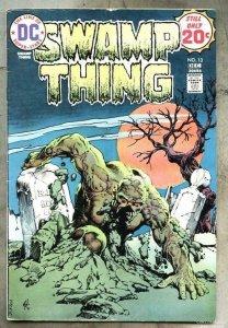 SWAMP THING #13, VG, Horror, 1972 1974, Len Wein, Redondo, more in store