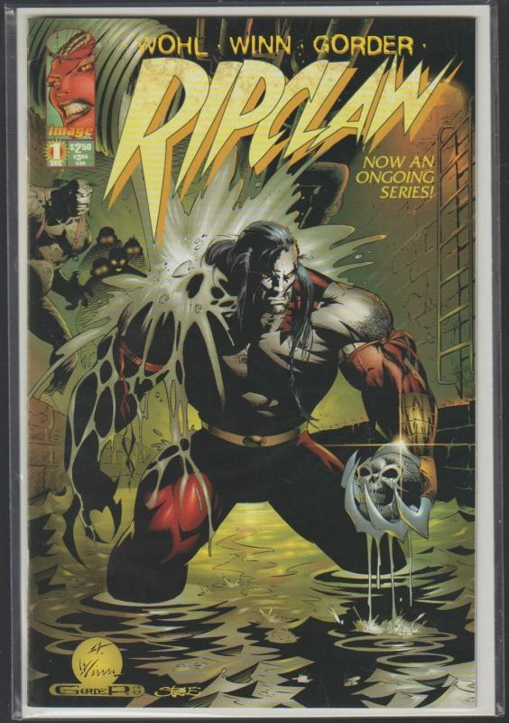 RIPCLAW #1 - 1st ISSUE! - IMAGE COMICS - N/M