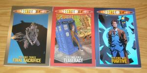 Doctor Who TPB 1-3 VF/NM complete series collects 1-16 + annual of idw series