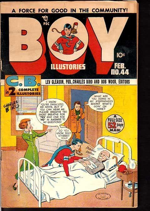 BOY COMICS #44-NORMAN MAUER CRIMEBUSTER STORY 1949 FN