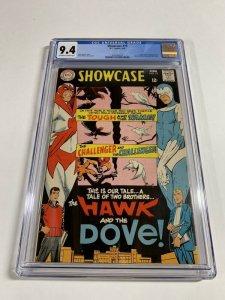 Showcase #75 (DC, 1968) CGC Graded 9.4 1st Hawk And Dove